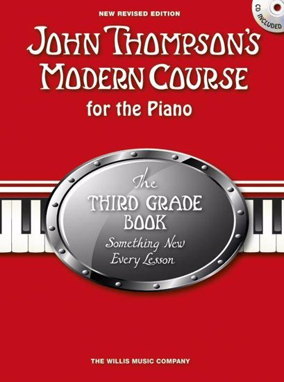 THOMPSON:MODERN COURSE FOR THE PIANO 3+CD