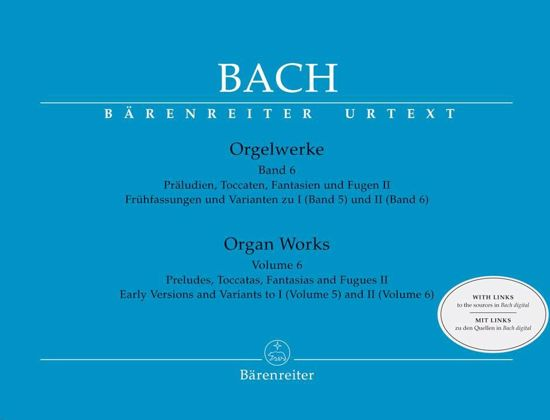BACH J.S.:ORGAN WORKS VOL.6