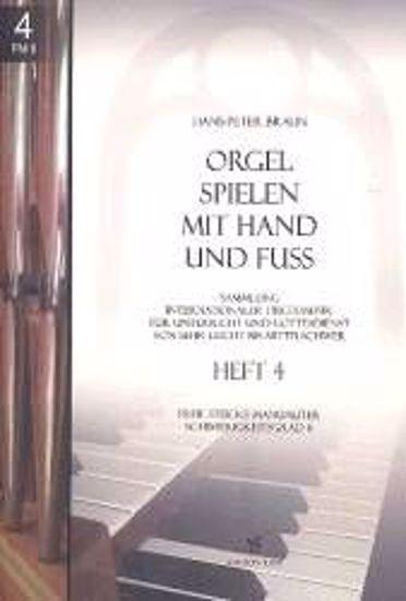 BRAUN:ORGEL SPIELEN MIT HAND AND FUSS 4