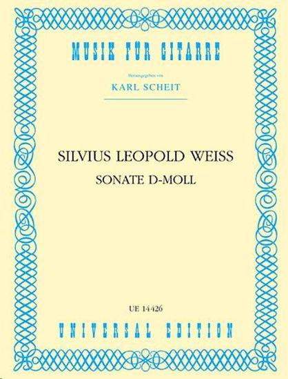 WEISS/SCHEIT:SONATE D-MOLL FUR GITARRE