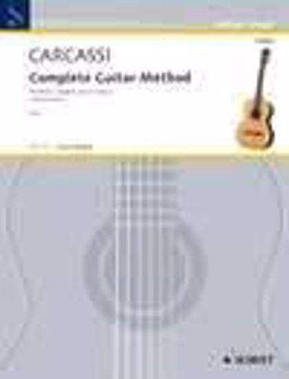 CARCASSI:COMPLETE GUITAR METHOD 1