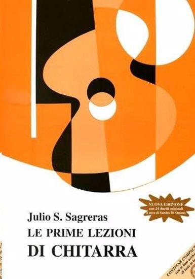 SAGRERAS:LE PRIME LEZIONI DI CHITARRA +CD