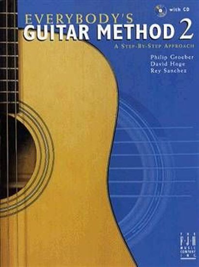 EVERYBODY'S GUITAR METHOD 2 +CD