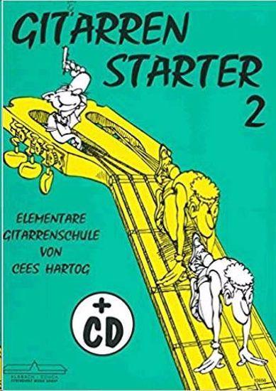 HARTOG:GITARREN STARTER 2+CD