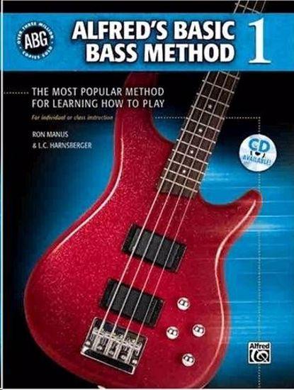 ALFRED'S BASIC BASS METHOD 1+CD
