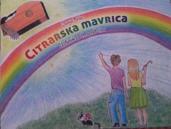 BRLEC JANJA:CITRARSKA MAVRICA UČBENIK ZA 1.RAZRED CITER