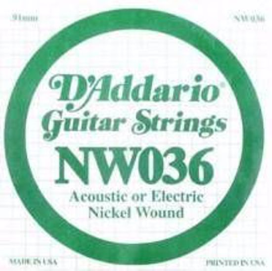 Struna D'Addario za E-Kitaro NW036