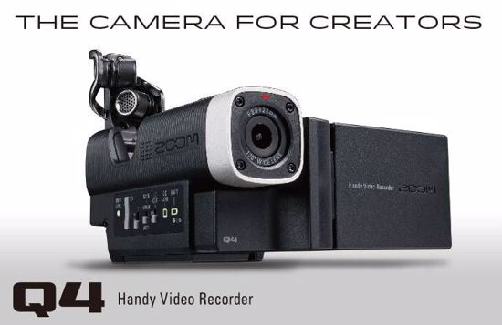 ZOOM Q4 HANDY HD AUDIO VIDEO RECORDER