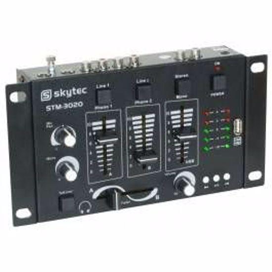 SKYTEC DJ MEŠALNA MIZA STM-3020 4ch USB/SD 172.976