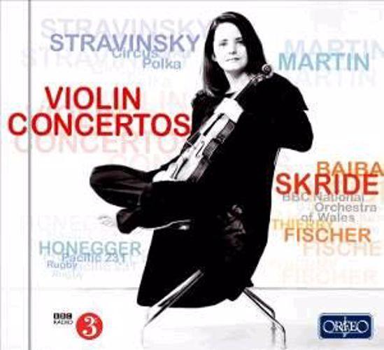 STRAVINSKY:VIOLIN CONCERTO/SKRIDE