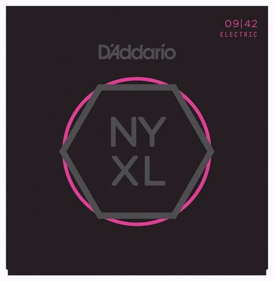 Strune D'Addario el. kitara NYXL0942  009-042