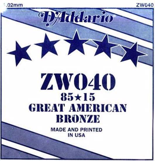 DAddario struna za akustično kitaro ZW042