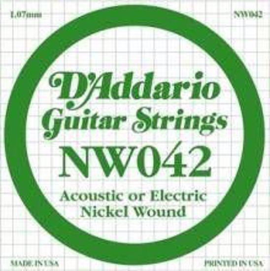 DAddario struna za električno kitaro NW042