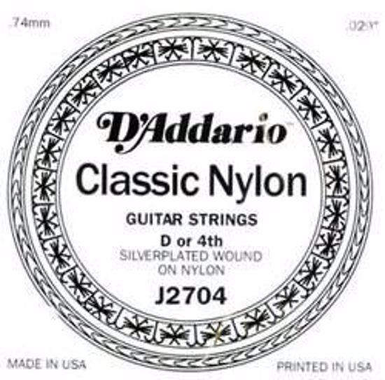 Struna D'Addario kitara nylon 4-D J2704