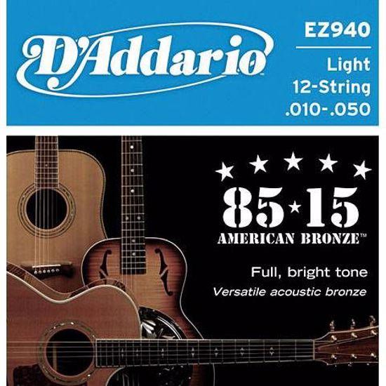 Strune D'Addario ak. kitara EZ940 12 strun 10 50
