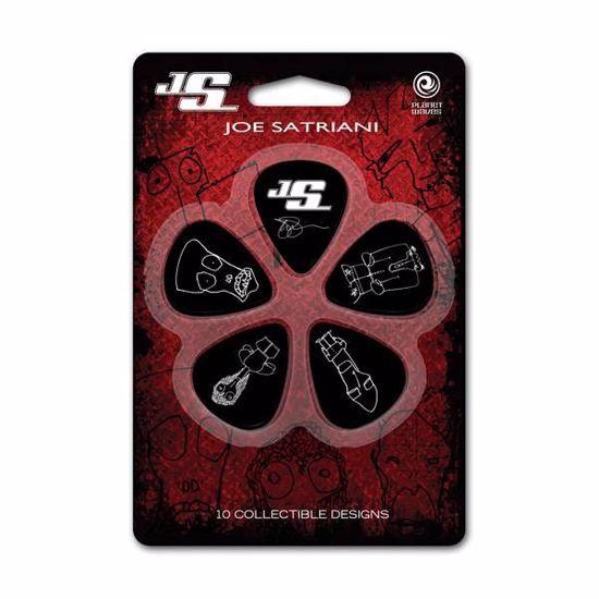 DRSALICE PLANET WAVES Joe Satriani Light 1CBK2-10JS