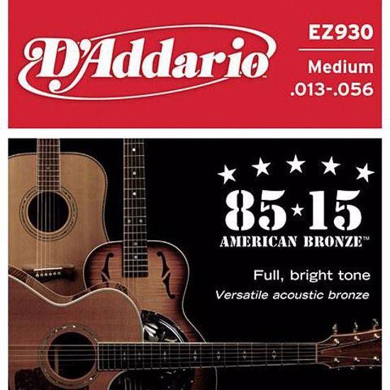 DAddario strune za akustično kitaro EZ930 Bronze 13-56