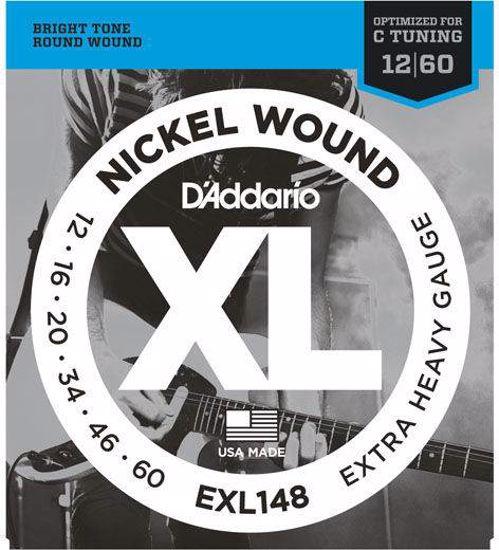 Strune D'Addario el.kitara EXL148  12-60