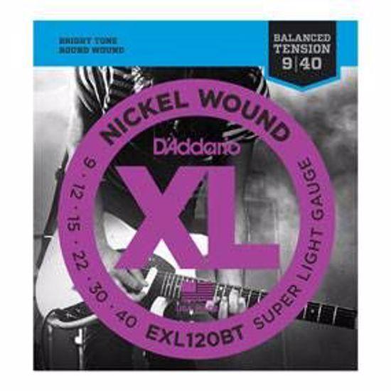 DAddario strune za električno kitaro EXL120BT BALANCED TENSION  9-40