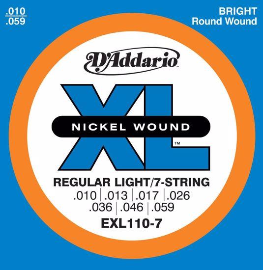 DAddario strune za električno kitaro EXL110-7  10-59