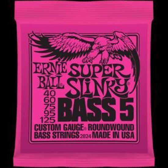 ERNIE BALL strune za bas kitaro SET 2824 BASS 040-125/5