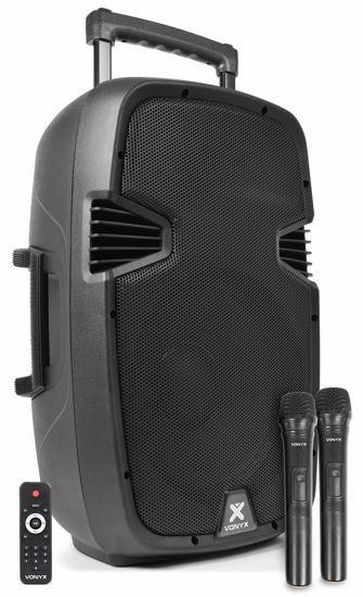 VONYX PRENOSNO BATER.OZVOČENJE SPJ-PA912 UHF/USB/MP3/BT 170.075