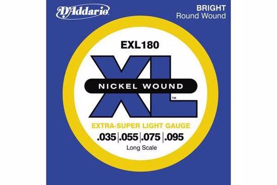 Strune D'Addario kitara bas EXL180  35-95