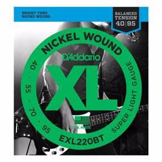 Strune D'Addario kitara bas EXL220BT BALANCED TENSION  40-95