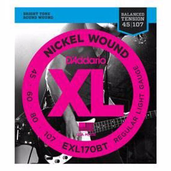 Strune D'Addario kitara bas EXL170BT BALANCED TENSION  45-100