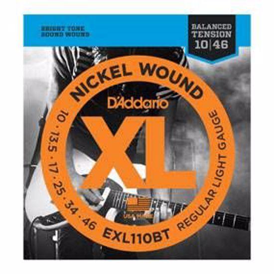 Strune D'Addario el.kitara EXL110BT BALANCED TENSION  10-46