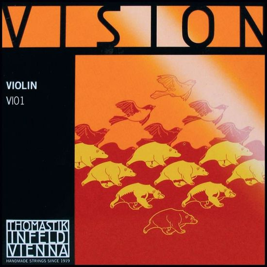 VISION STRUNA ZA VIOLINO E VI01 1/4
