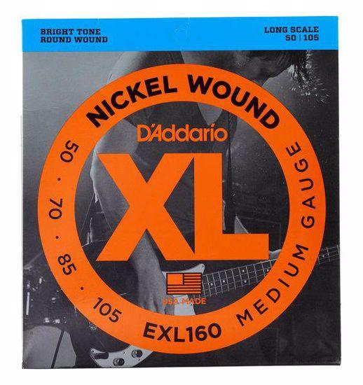 DAddario strune za bas kitaro EXL160 50-105