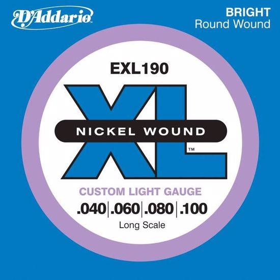 DAddario strune za bas kitaro EXL190  40-100