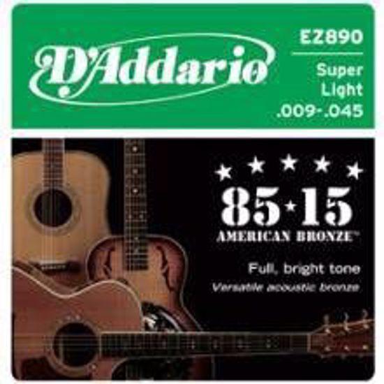 DAddario strune za akustično kitaro EZ890 Bronze 9-45