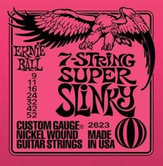 ERNIE BALL strune za električno kitaro SET 2623 7ST. 09-052