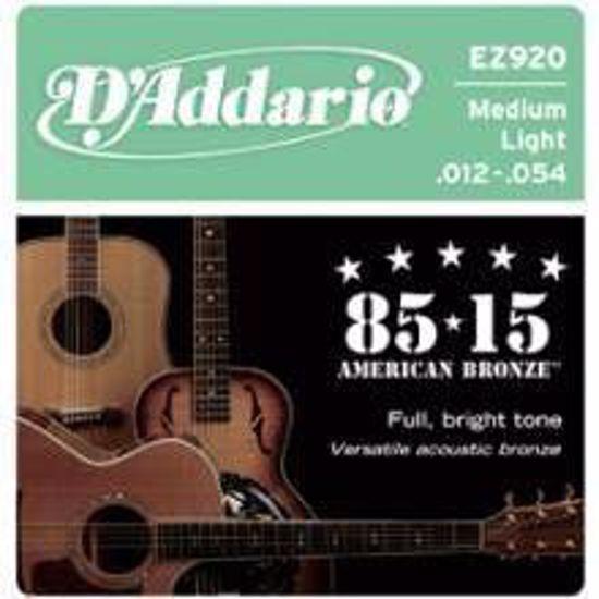 Strune D'Addario ak. kitara EZ920 Bronze 12-54