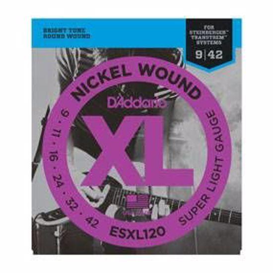Strune D'Addario el. kitara ESXL120  009-042 Double Ball end