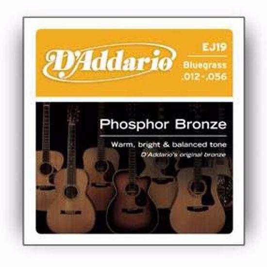 DAddario strune za akustično kitaro EJ19  ph.bronze 12-56