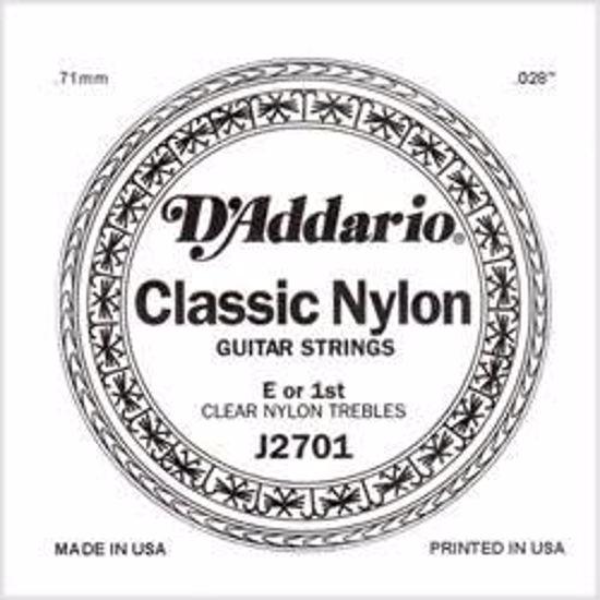 Struna D'Addario kitara nylon 1-E J2701