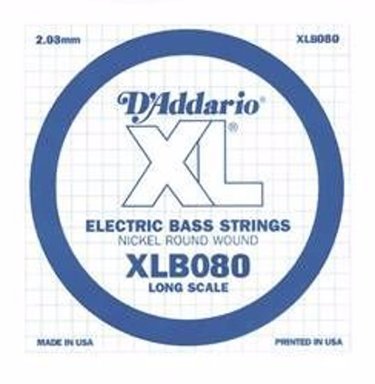 Struna D'Addario za bas Kitaro XLB080