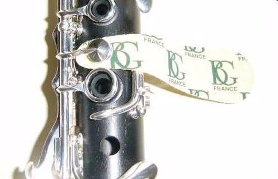 BG krpice za čiščenje blazinic flavta, klarinet, fagot A65U