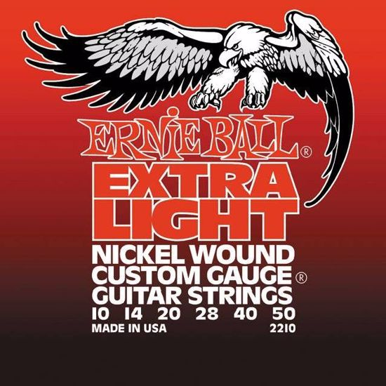 ERNIE BALL strune za električno kitaro SET 2210 010-050 NICKEL