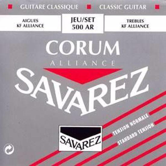 Strune Savarez Alliance Corum Rouge kitara 500AR