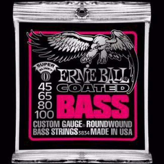 ERNIE BALL strune za bas kitaro SET 3834 BASS COATED SUPER 045-100