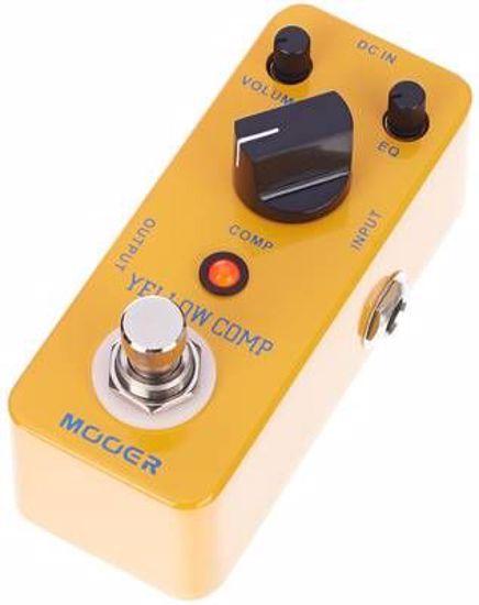 Mooer efekt Yellow Comp Compressor pedal