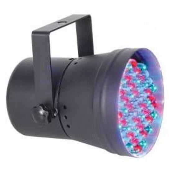 BEAMZ PAR 36 DMX spot 60 LEDs - Black 151.148