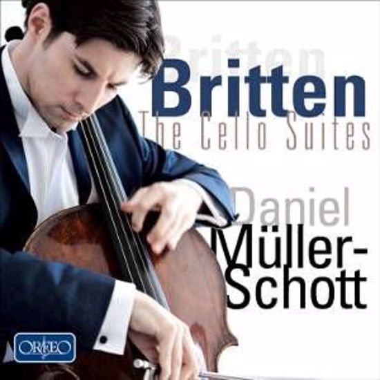 BRITTEN:THE CELLO SUITES/MULLER-SCHOTT