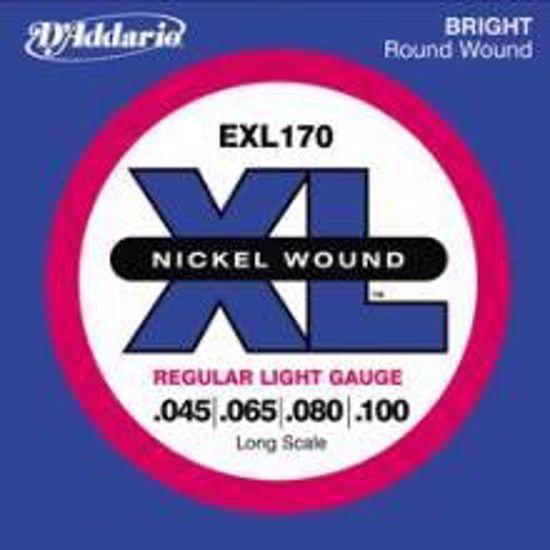 Strune D'Addario kitara bas EXL170  45-100