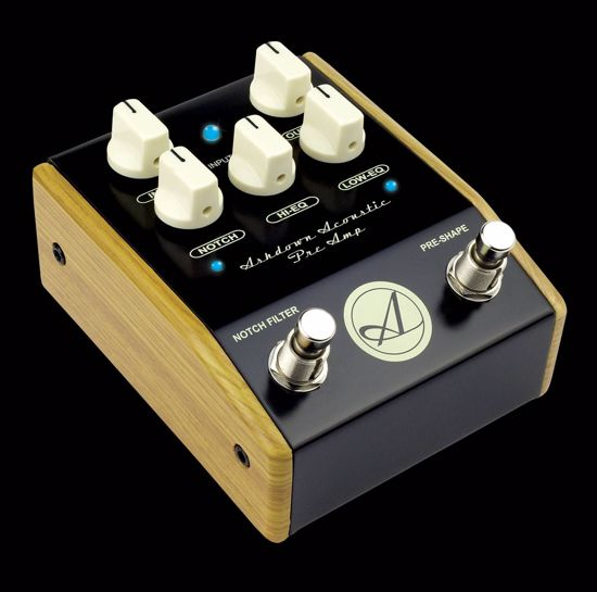 ASHDOWN EFELT ACOUSTIC PRE-AMP WOOD SIDES