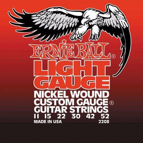 ERNIE BALL strune za električno kitaro SET 2208 011-052 NICKEL